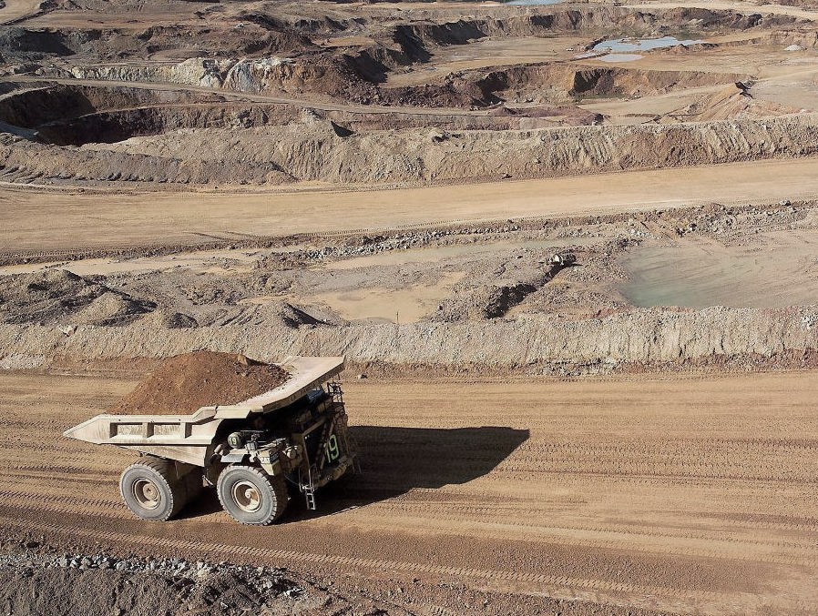 LIM02. CAJAMARCA (PERÚ) 29/08/06. La minera Yanacocha que explo
